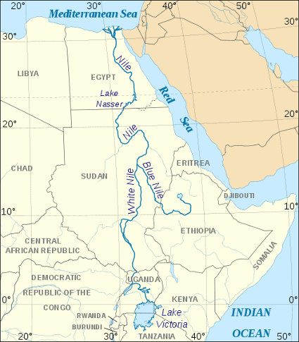 African Safari Attractions In Numbers Africa Freak - Longest river in each continent