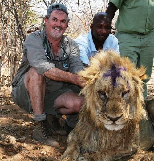 Chobe National Park as his office