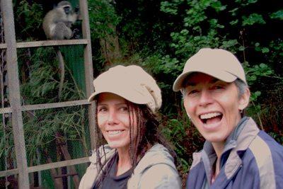 "Meet Karin Saks: ""Baboon Woman"""