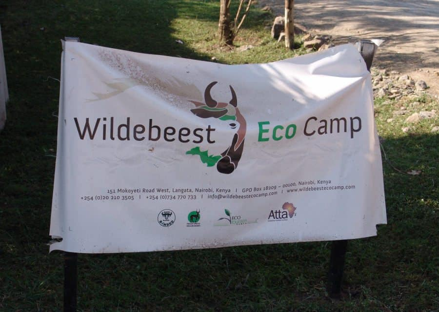 Wildebeest Eco Camp – A piece of paradise