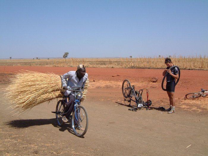 local African bike