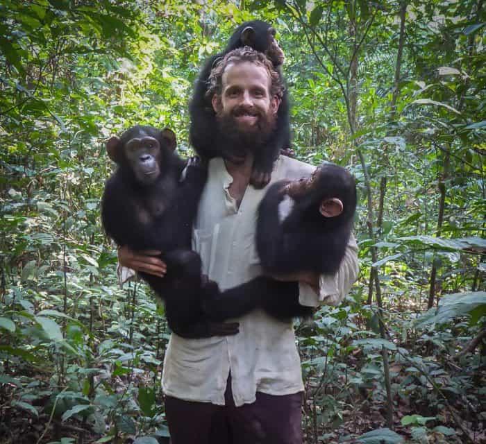 Video: chimp steals my GoPro