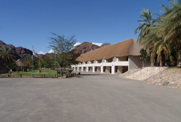 Ai Ais Hotsprings Resort and Spa in southern Namibia