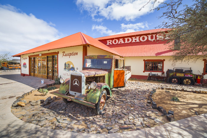 Canyon Roadhouse Lodge in Namibia
