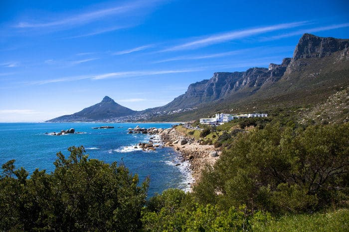 Overview of the Cape Peninsula, featuring the famous 12 Apostles Hotel & Spa
