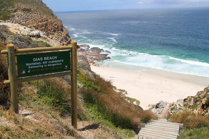 Dias Beach, named after the first European explorer to sail around the Cape of Good Hope