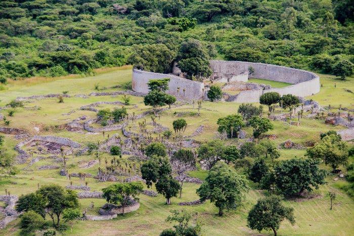 The Great Zimbabwe Ruins near Masvingo in Zimbabwe