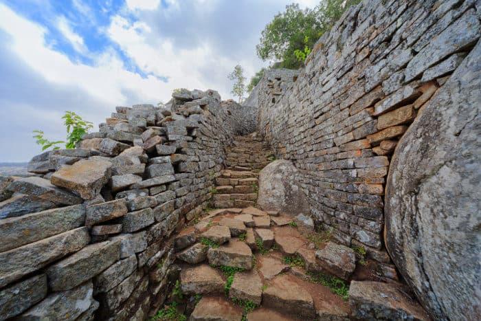 The citadel of Great Zimbabwe