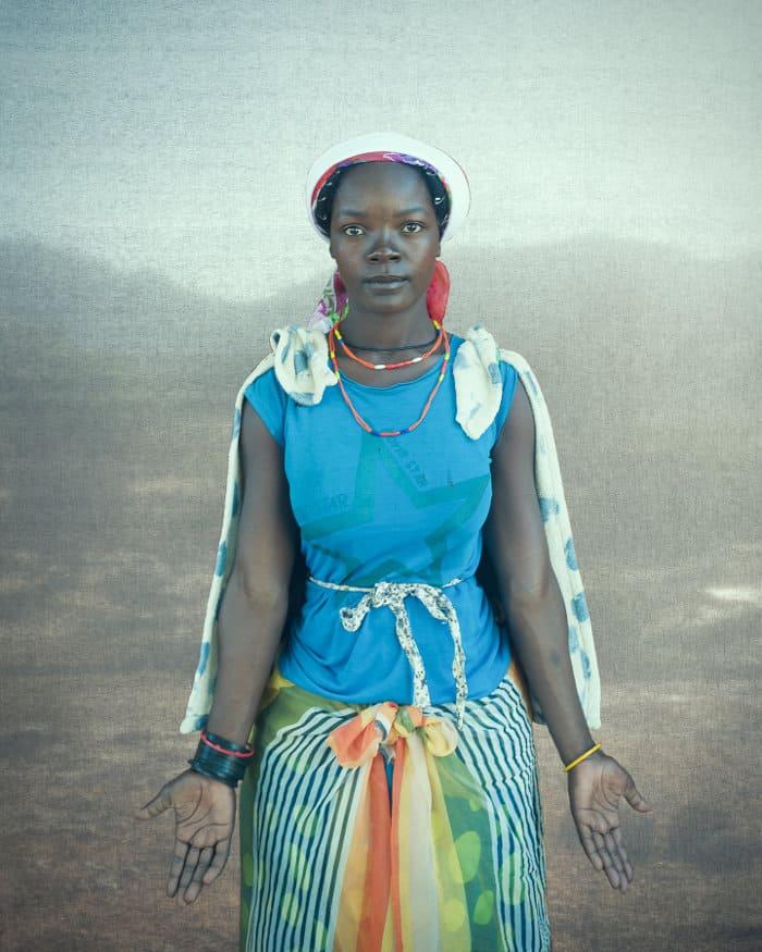 Macubal woman in Southern Angola