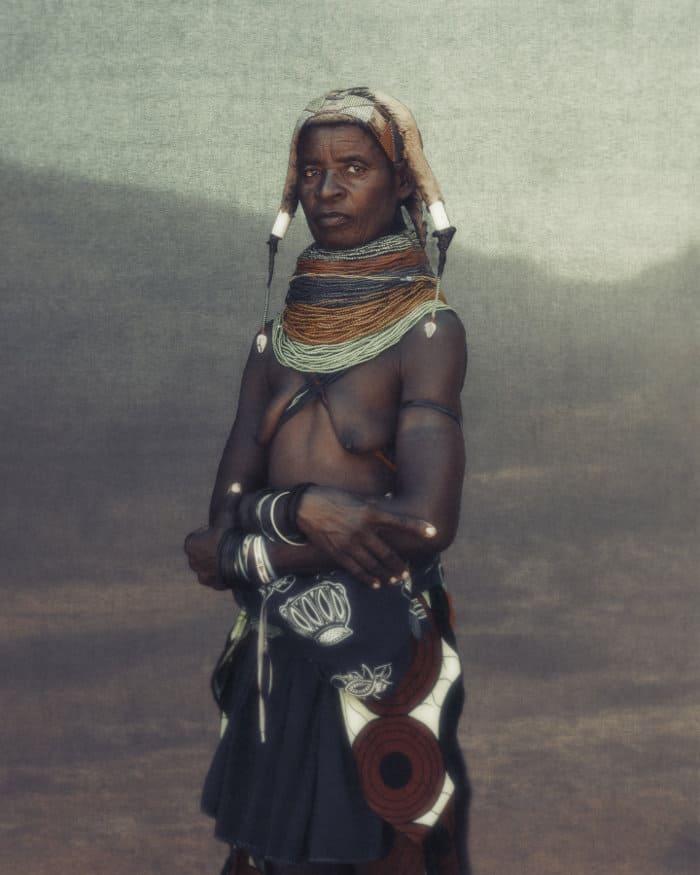 Mwila matriarch in Southern Angola
