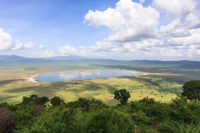 Ngorongoro is the world's largest intact volcanic caldera