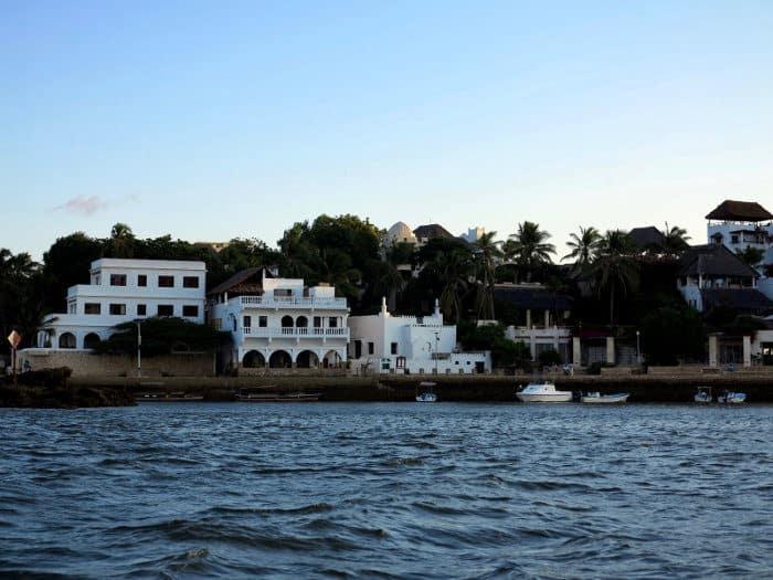 Shela village overlooks Lamu Island's longest beach
