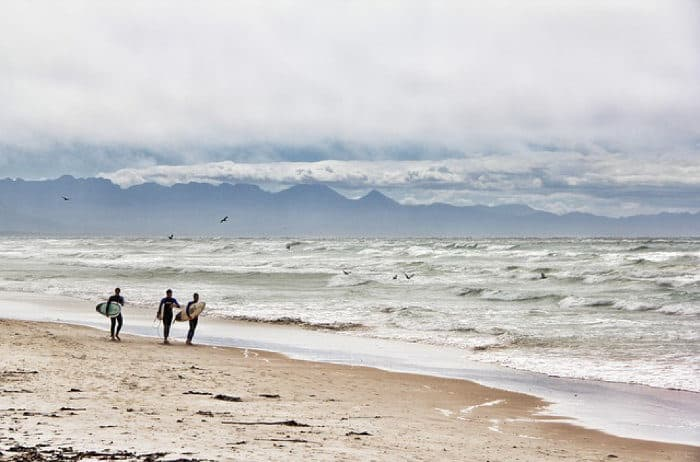South Africa is a surfer's paradise, especially along the Western Cape