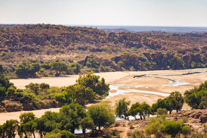 Dry river bed in Mapungubwe National Park