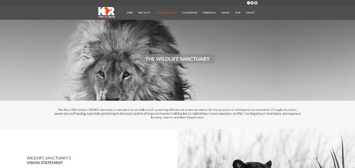 The Kevin Richardson Wildlife Sanctuary - Lion Whisperer Website