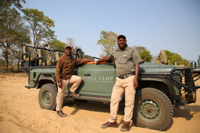 Local safari guide and tracker from Kings Camp in the Timbavati