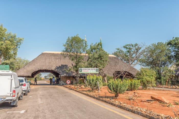 The Malelane entrance gate, Kruger National Park