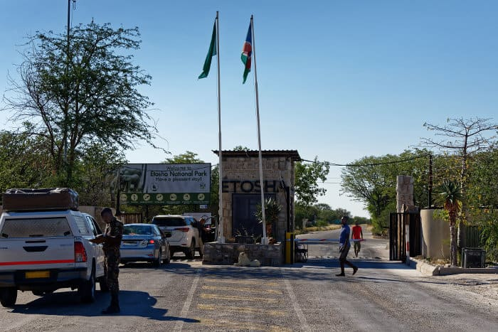Anderson's Gate - one of the four entry points in Etosha National Park