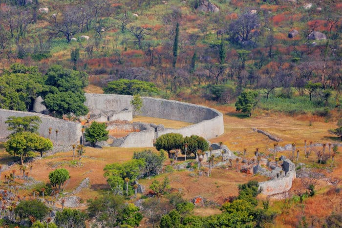 Citadel of Great Zimbabwe, the greatest historical site in Sub-Saharan Africa