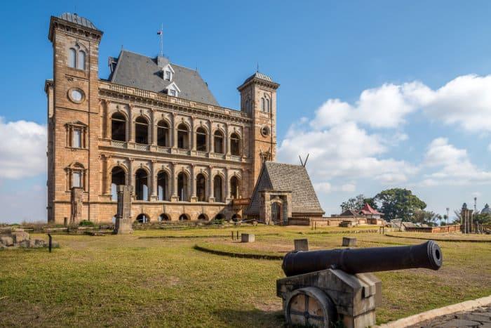 Courtyard of the royal palace complex, Rova of Antananarivo, Madagascar