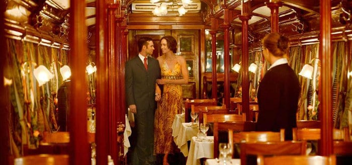 Dressing up for the occasion adds authenticity to the Rovos Rail train experience