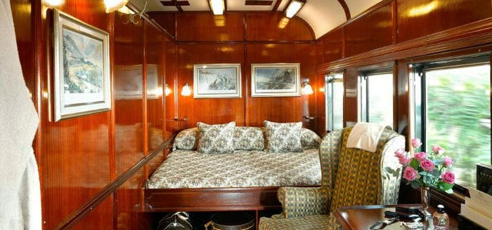 Rovos Rail - Royal Suite interior