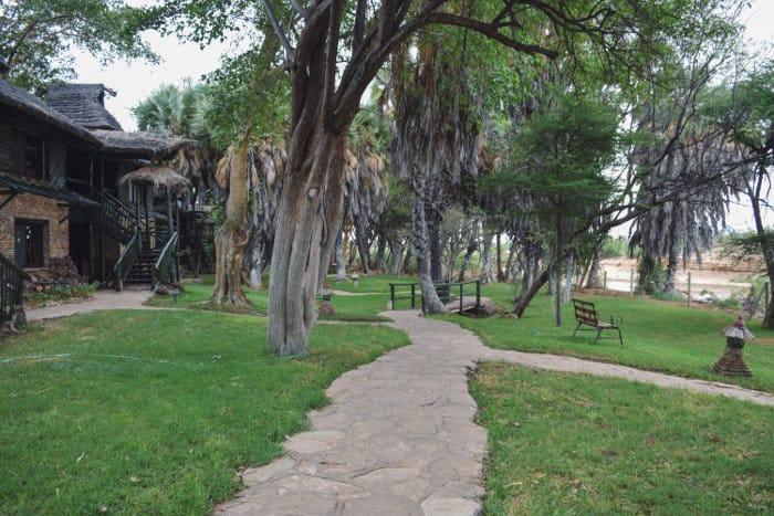 Sarova Shaba Game Lodge in the heart of the Shaba Game Reserve, just east of Samburu