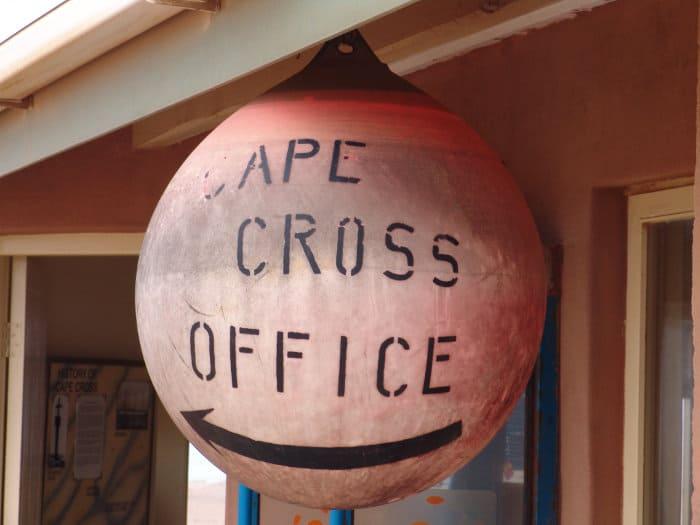 Cape Cross Seal Reserve office