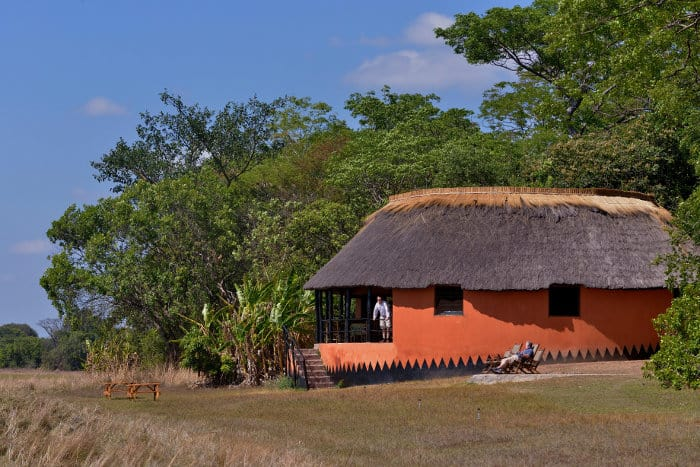 Known as a 'piece of peace', and nestled in the heart of Kasanka, Wasa Lodge has incredible views overlooking the lake