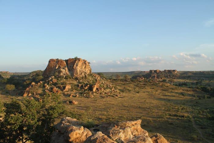 Mapungubwe National Park aerial view