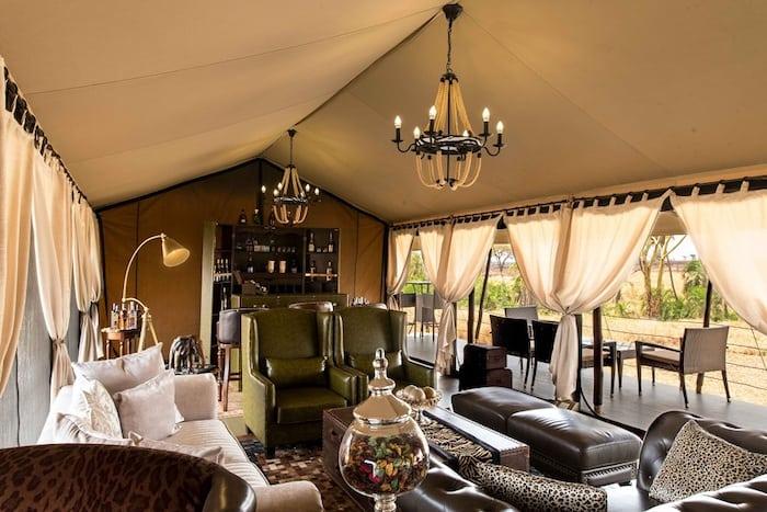 Luxury glamping in Tanzania | Photo credits: Ole Serai luxury camp